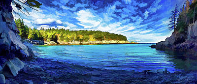 Coastal Maine Photograph - Quiet Cove At Cutler by ABeautifulSky Photography by Bill Caldwell