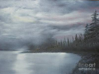 Quiet Cove Art Print by Shawn Cooper