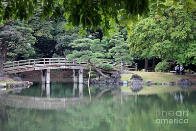 Photograph - Quiet Day In Tokyo Park by Carol Groenen