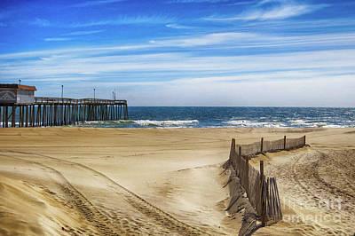 Photograph - Quiet Day On The Beach by Dawn Gari