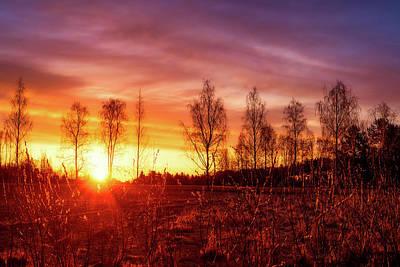 Photograph - Quiet Daybreak by Mika Suvanto