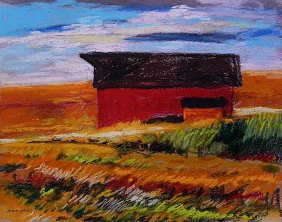 Red Roof Drawing - Quiet Dignity by John Williams