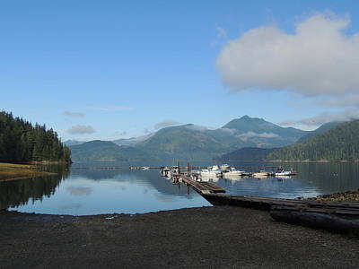 Photograph - Quiet Dock #1 by Nootka Sound