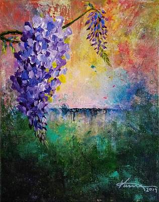Painting - Quiet Evening by Kume Bryant