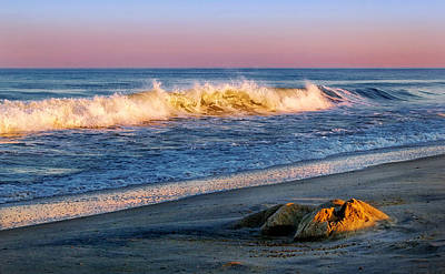 Photograph - Quiet Evening On The Beach by Carolyn Derstine