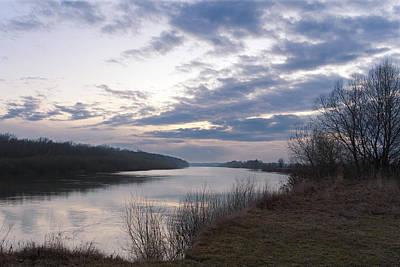 Photograph - Quiet Evening Over Desna River. Horytsya, 2017. by Andriy Maykovskyi
