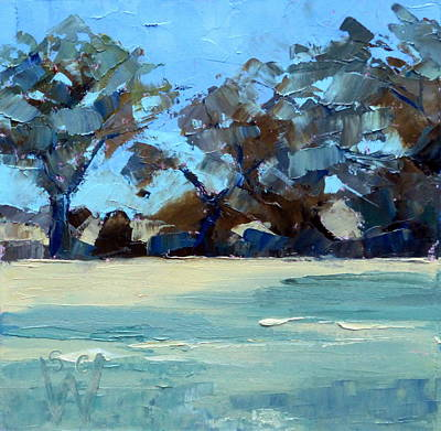 Painting - Quiet Fields by Susan Woodward