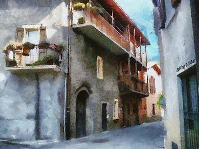 Quiet Painting - Quiet In Almenno San Salvatore by Jeffrey Kolker