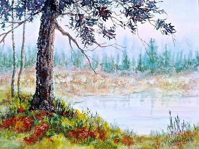 Painting - Quiet Inlet by Carolyn Rosenberger