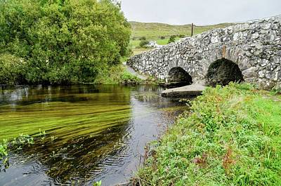 Photograph - Quiet Man Bridge by Joe Ormonde