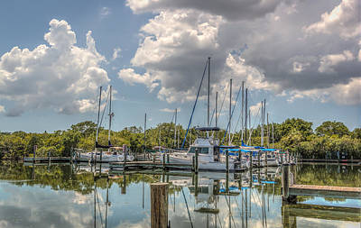 Photograph - Quiet Marina by Jane Luxton