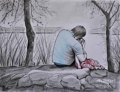 Quiet Moment With Dad Original