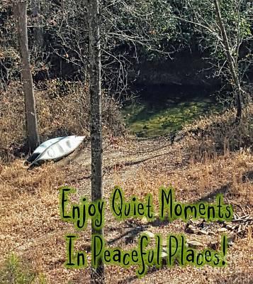 Photograph - Quiet Moments by Rachel Hannah