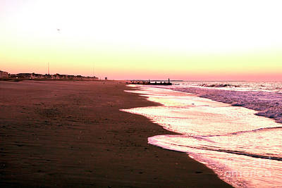 Photograph - Quiet Morning At Cape May by John Rizzuto