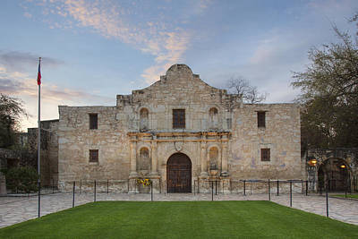 Quiet Morning At The Alamo 4 Art Print by Rob Greebon