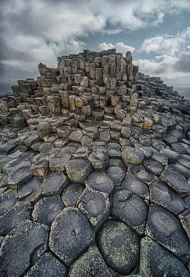 Photograph - Quiet Morning Giant's Causeway by Jaroslaw Blaminsky