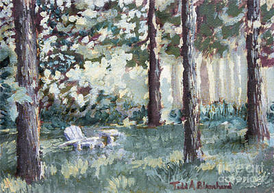 Tn Painting - Quiet Place by Todd A Blanchard