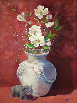 Painting - Quiet Resilience by Teresa Lynn Johnson