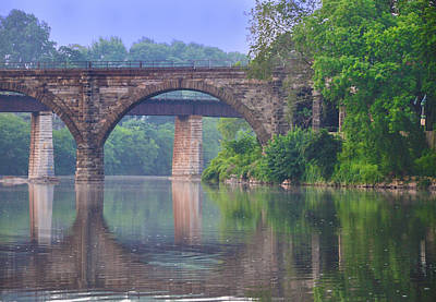 Quiet River Print by Bill Cannon