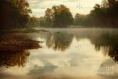 Quiet River Art Print by Tamyra Ayles