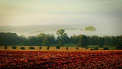 Photograph - Quiet Rural Morning by Holger Schue