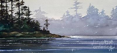 Quiet Shore Art Print