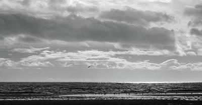 Quiet Shores After The Storm Art Print