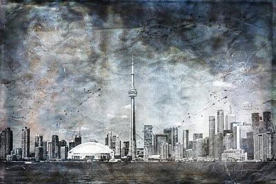 Digital Art - Quiet Sky by Nicky Jameson