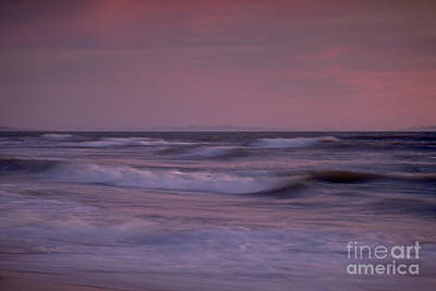 Photograph - Quiet Soft And Gentle Surf by David Zanzinger