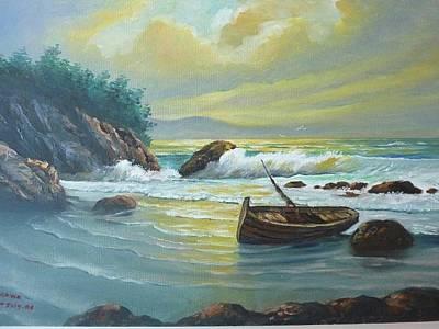 Painting - Quiet Storm by Wanvisa Klawklean