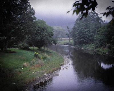 Quiet Stream- Woodstock, Vermont Art Print