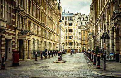 Photograph - Quiet Street Bishopsgate by Nicky Jameson