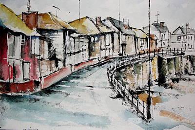 Quiet Streets Art Print