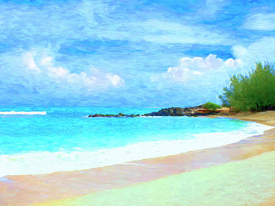 Painting - Quiet Time At Baldwin Beach by Dominic Piperata