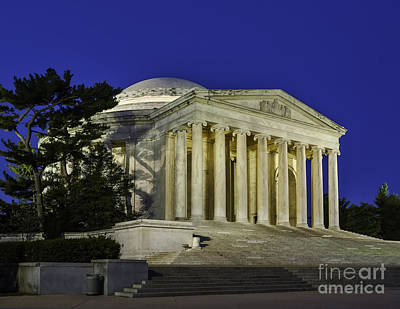 Photograph - Quiet Time At The Jefferson Memorial by Nick Zelinsky
