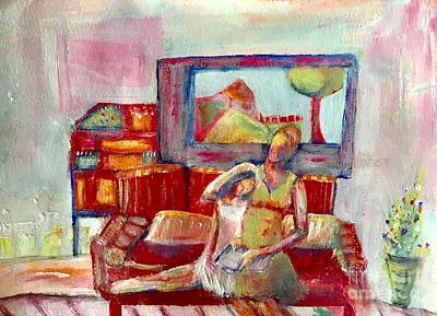Painting - Quiet Time by Gail Butters Cohen