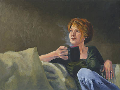 Painting - Quiet Time by Jackie Little Miller