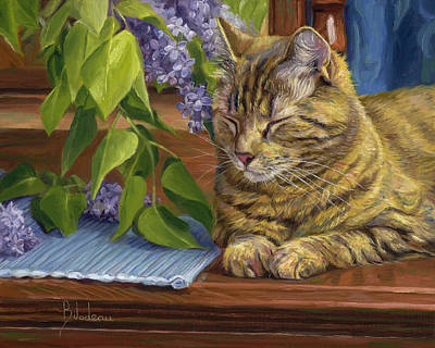 Painting - Quiet Time by Lucie Bilodeau