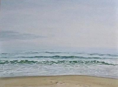 Thomas Kinkade - Quiet Winter Day by Ellen Paull