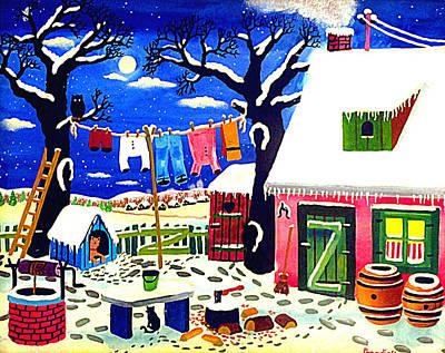 Quiet Winter Night Original by Branko Paradis