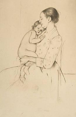 Relief - Quietude by Mary Cassatt