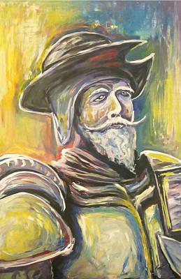 Don Quijote Painting - Don Quijote De La Mancha by Juan Hernandez