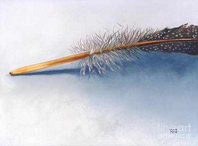 Painting - Quill by Rosellen Westerhoff