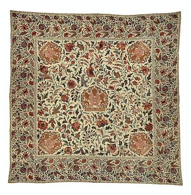 Tapestry - Textile - Quilt 1700 To 1720 by R Muirhead Art
