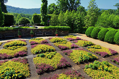 Photograph - Quilt Garden At The North Carolina Arboretum by Jill Lang