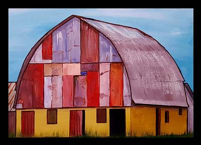 Painting - Quilted Barn 2 by Jim Harris