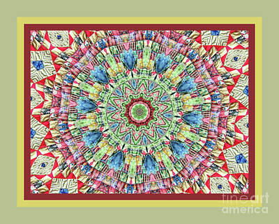 Photograph - Quilted Colors  by Shirley Moravec