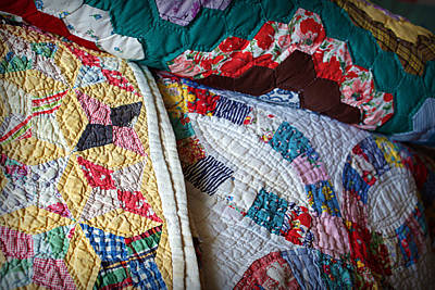 Quilting Photograph - Quilted Comfort by Cricket Hackmann