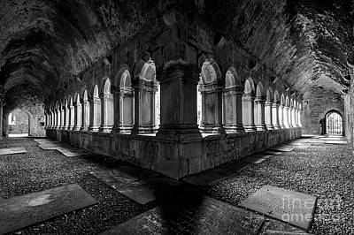 Photograph - Quin Abbey by Dennis Hedberg