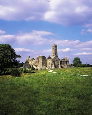 Monasticism Photograph - Quin Abbey, Quin, Co Clare, Ireland by The Irish Image Collection